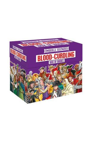 Blood-curdling Box of Books - Terry Deary