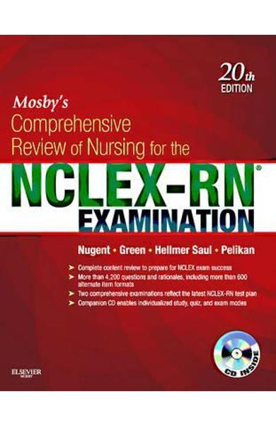 Mosby's Comprehensive Review of Nursing for the NCLEX-RN  Ex - Patricia M Nugent