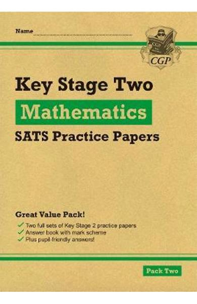 New KS2 Maths SATS Practice Papers: Pack 2 (for the 2019 tes -