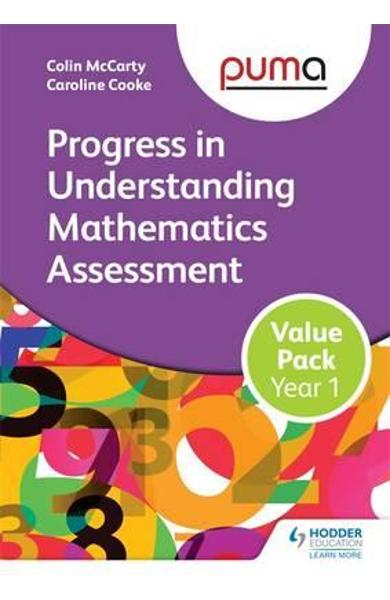 PUMA Year 1 Value Pack (Progress in Understanding Mathematic