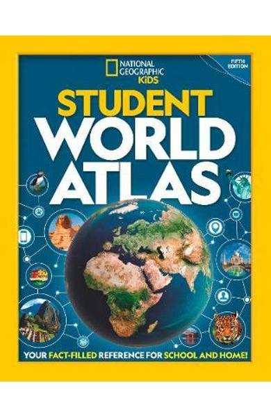 National Geographic Student World Atlas -