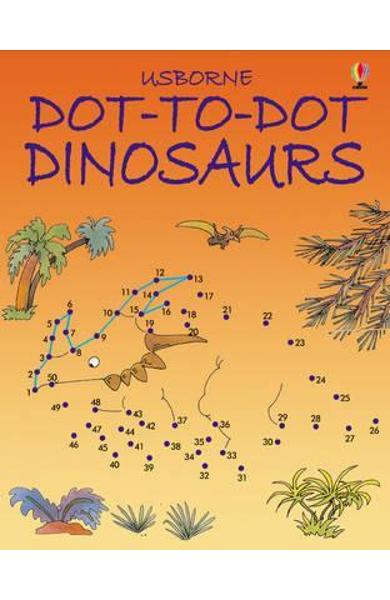 Dot to Dot Dinosaurs -