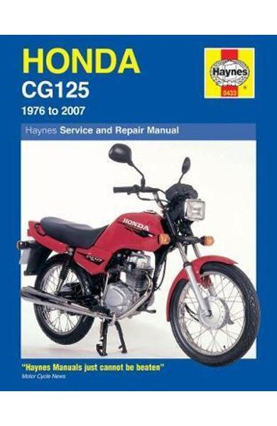 Honda CG125 Service and Repair Manual