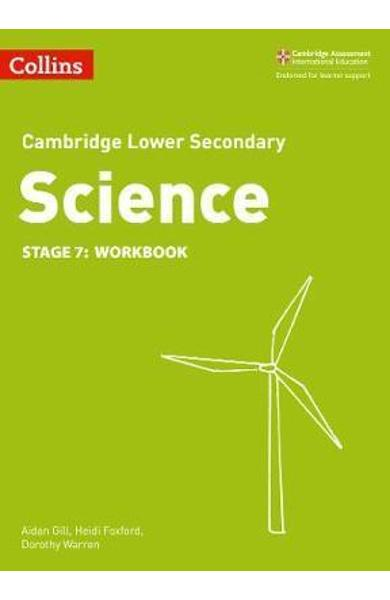 Lower Secondary Science Workbook: Stage 7 -