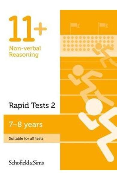 11+ Non-verbal Reasoning Rapid Tests Book 2: Year 3, Ages 7-