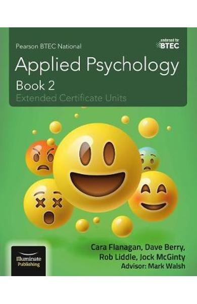 Pearson BTEC National Applied Psychology: Book 2 -