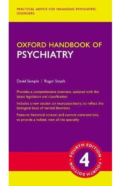 Oxford Handbook of Psychiatry - David Semple