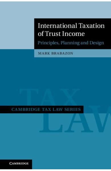 Cambridge Tax Law Series - Mark Brabazon