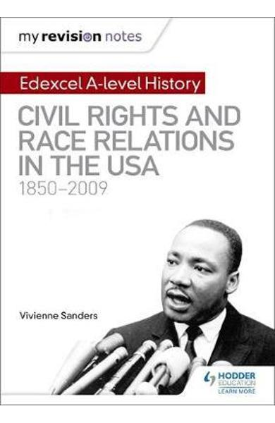 My Revision Notes: Edexcel A-level History: Civil Rights and