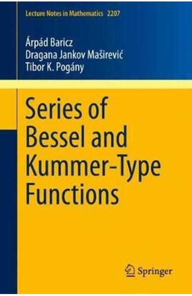 Series of Bessel and Kummer-Type Functions
