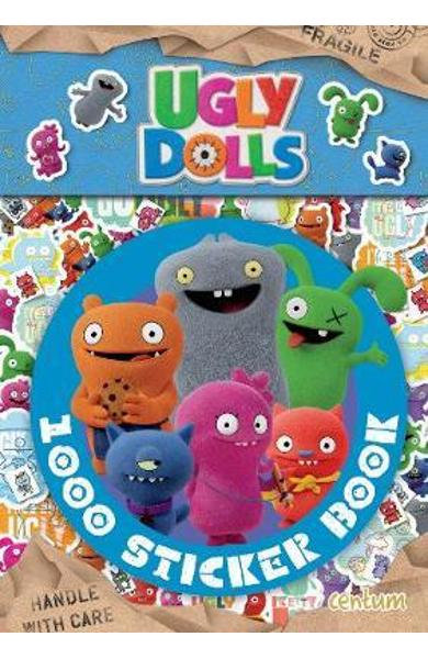 Ugly Dolls - 1000 Sticker Book -