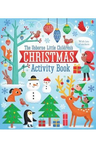 Little Children's Christmas Activity Book - James Maclaine