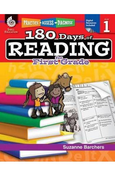 180 Days of Reading for First Grade - Suzanne Barchers