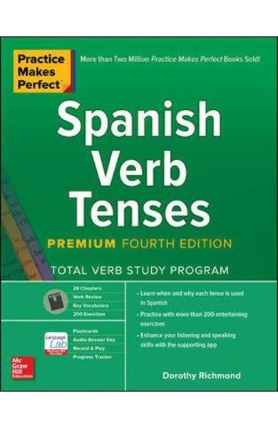 Practice Makes Perfect: Spanish Verb Tenses, Premium Fourth