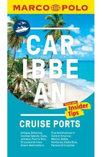 Caribbean Cruise Ports Marco Polo Pocket Guide - with pull o -