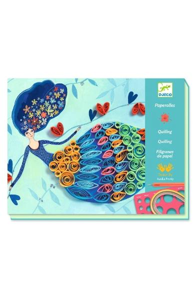 Paperolles, Quilling. Atelier quilling