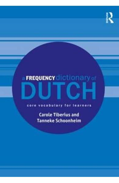 Frequency Dictionary of Dutch - Carole Tiberius