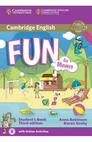 Fun for Movers Student's Book with Audio with Online Activit