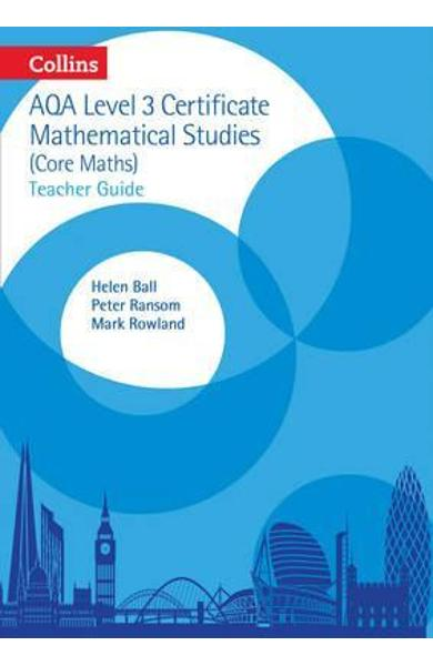 AQA Level 3 Mathematical Studies Teacher Guide