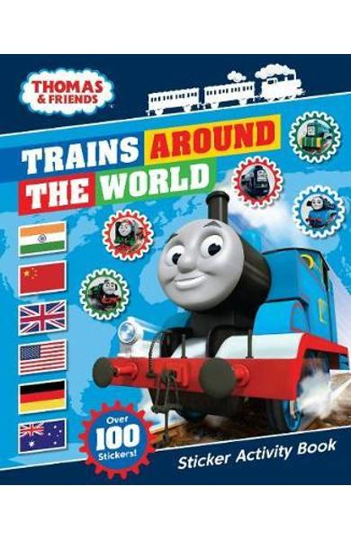 Thomas & Friends: Trains Around the World Sticker Activity B