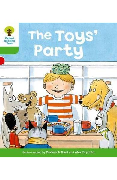 Oxford Reading Tree: Level 2: Stories: The Toys' Party - Roderick Hunt