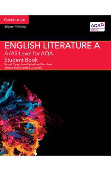 A/AS Level English Literature A for AQA Student Book