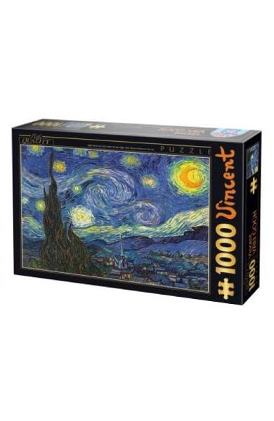 Puzzle 1000 Vincent Van Gogh - The Stary Night