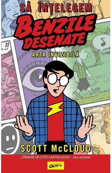 Sa intelegem benzile desenate - Scott McCloud