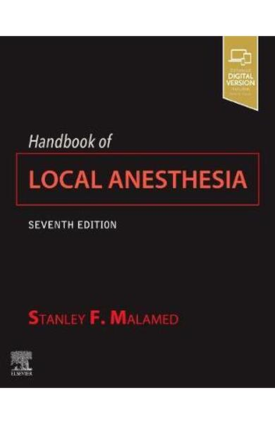 Handbook of Local Anesthesia - Stanley F Malamed
