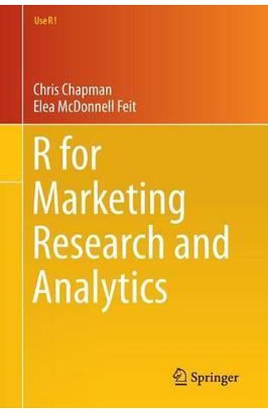 for Marketing Research and Analytics -  Chapman