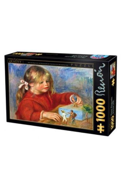 Puzzle 1000 Pierre Auguste Renoir - Claude Renoir at play Sun