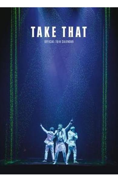 Take That Official 2018 Calendar - A3 Poster Format