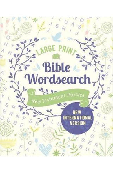 Large Print Bible Wordsearch - Eric Saunders