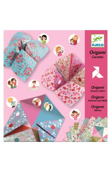 Origami, Cocottes a gages. Initiere in origami