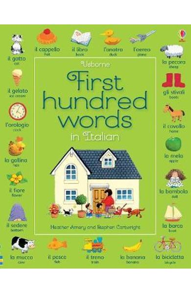 First Hundred Words in Italian