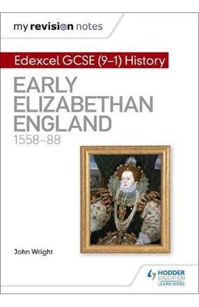 My Revision Notes: Edexcel GCSE (9-1) History: Early Elizabe