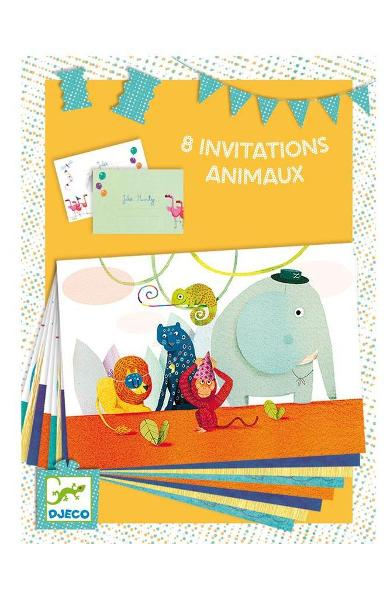 8 Invitations. Invitatii, Animale