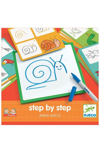 Step by step, Animo and Co. Animale