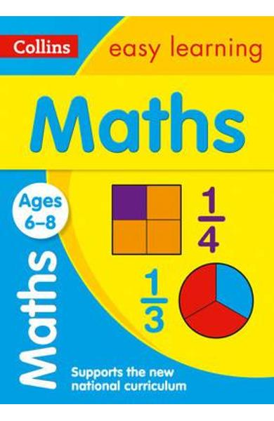 Collins Easy Learning Age 5-7 - Maths Ages 6-8