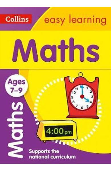 Collins Easy Learning Age 7-11 - Maths Ages 7-9