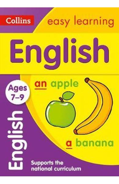 Collins Easy Learning Age 7-11 - English Ages 7-9