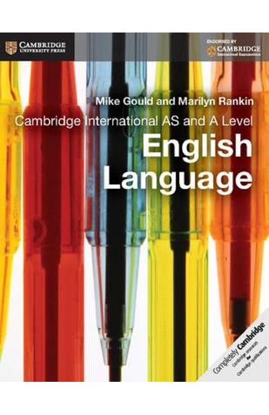 Cambridge International as and A Level English Language Cour