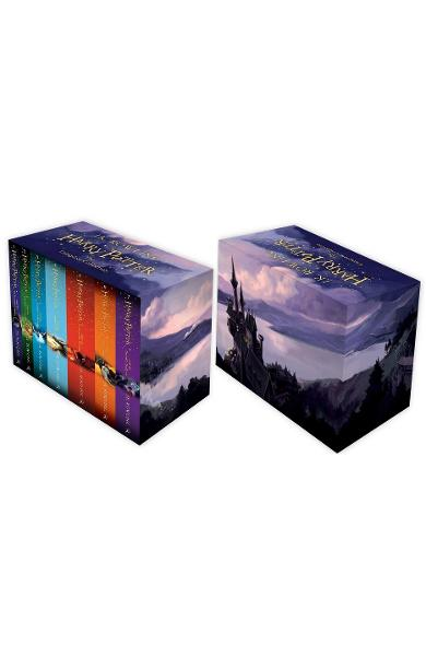 Harry Potter Box Set: The Complete Collection Children's Paperback - J. K. Rowling