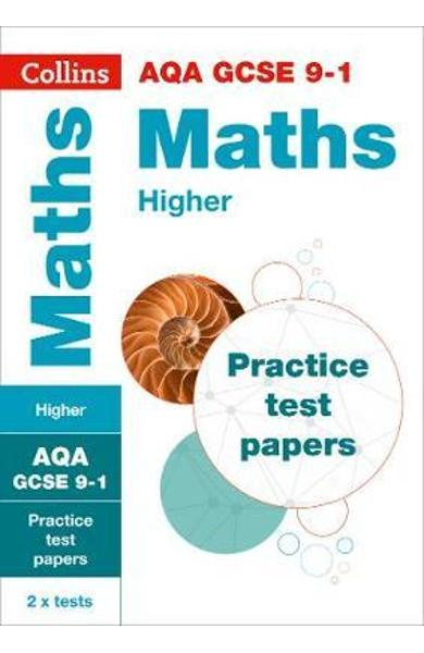GCSE Maths Higher AQA Practice Test Papers