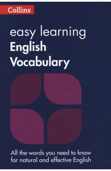 Collins Easy Learning English - Easy Learning English Vocabu