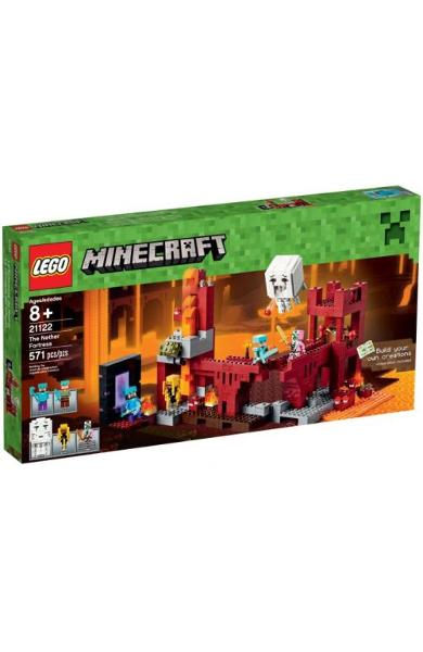 Lego The Nether Fortress 8+ ani (21122)