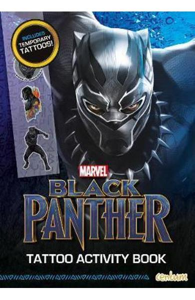 Black Panther - Tattoo Activity Book