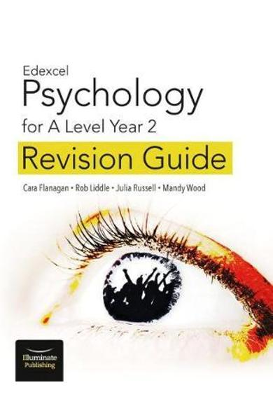 Edexcel Psychology for A Level Year 2: Revision Guide - Cara Flanagan