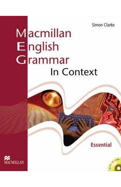 Macmillan English Grammar In Context Essential Pack without - S Clarke
