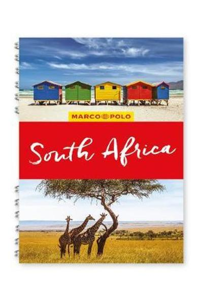 South Africa Marco Polo Travel Guide - with pull out map -